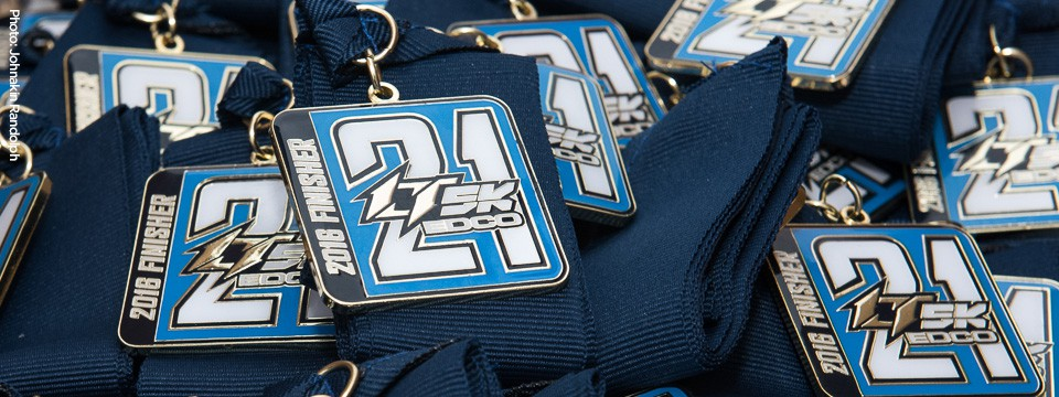 Finisher Medals for all participants!